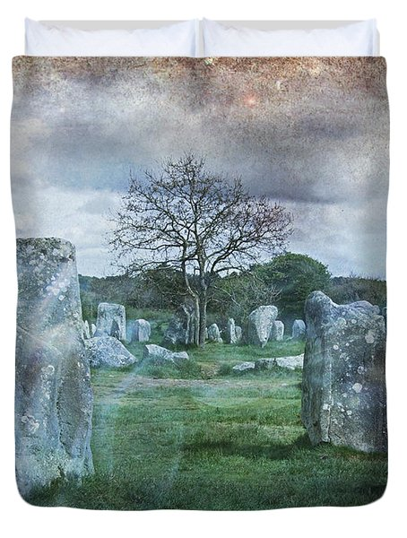 Magical Brittany Duvet Cover by Barbara Orenya