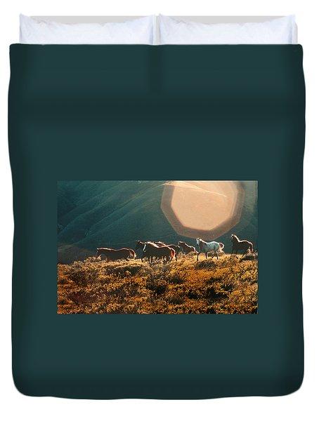 Magical Herd Duvet Cover