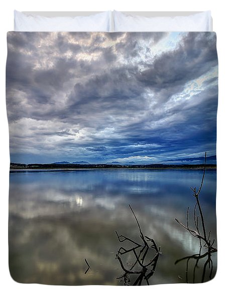 Magical Lake Duvet Cover