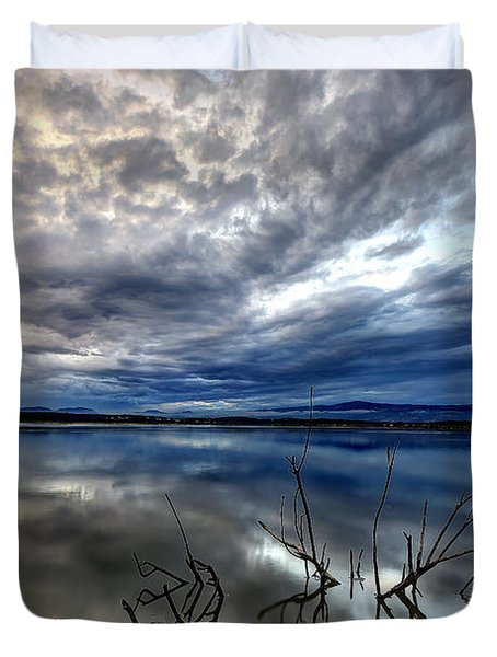 Magical Lake - Vertical Duvet Cover