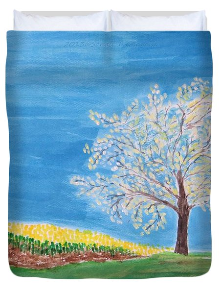 Magical Wish Tree Duvet Cover