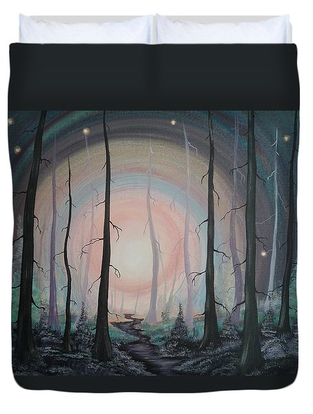 Magicle Forest Duvet Cover