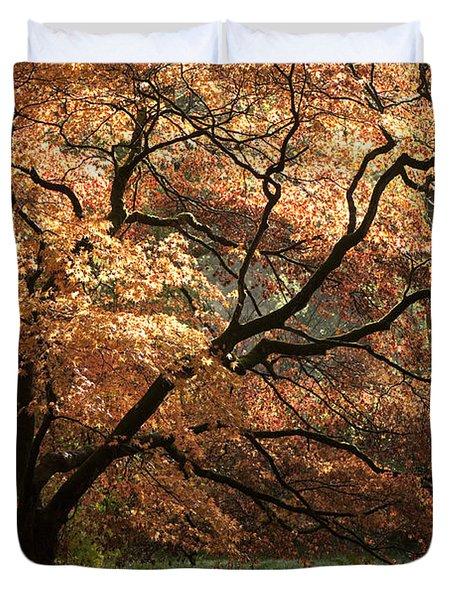 Magnificent Autumn Duvet Cover by Anne Gilbert