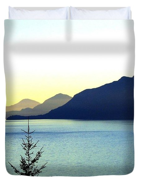 Magnificent Howe Sound Duvet Cover by Will Borden