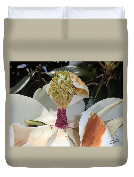 Magnolia Magnicence  Duvet Cover