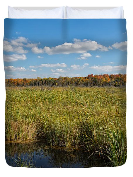 Magnificent Minnesota Marshland Duvet Cover