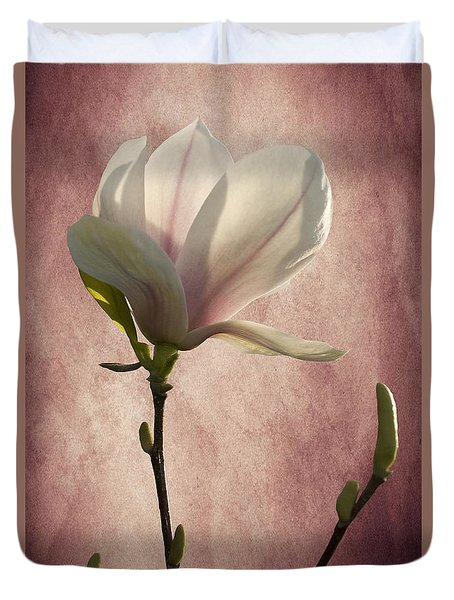 Magnolia Duvet Cover by Ann Lauwers