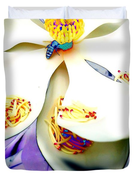 Magnolia Bee Duvet Cover