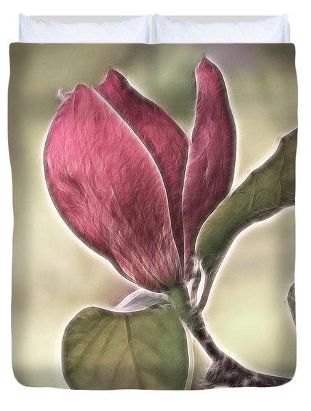 Magnolia Glow Duvet Cover