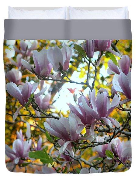 Magnolia Maidens Duvet Cover
