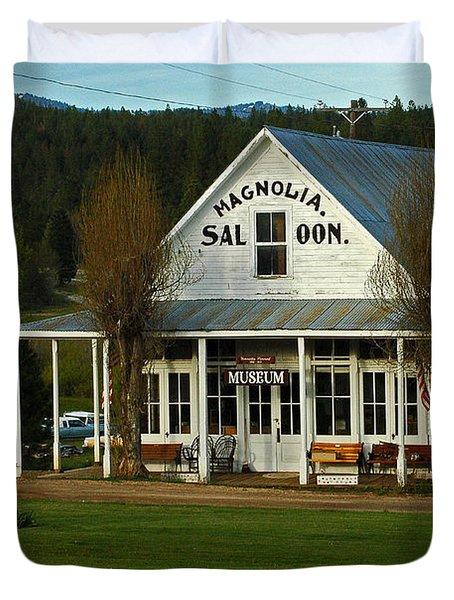 Magnolia Saloon Duvet Cover