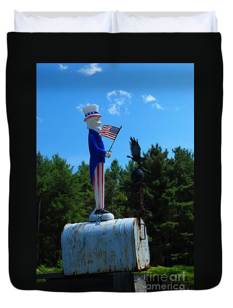 Mail For Uncle Sam Duvet Cover
