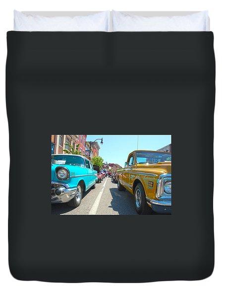 Main Street Classics Duvet Cover