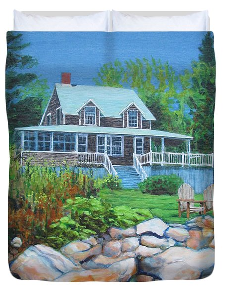 Maine Cottage Duvet Cover