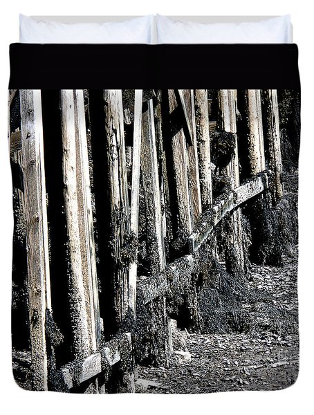 Maine Pier Duvet Cover