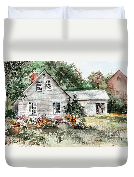 Maine Sunshine Duvet Cover