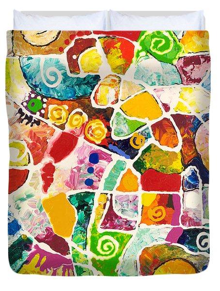 Maize Duvet Cover
