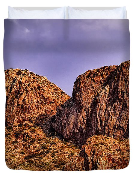 Duvet Cover featuring the photograph Majestic 15 by Mark Myhaver