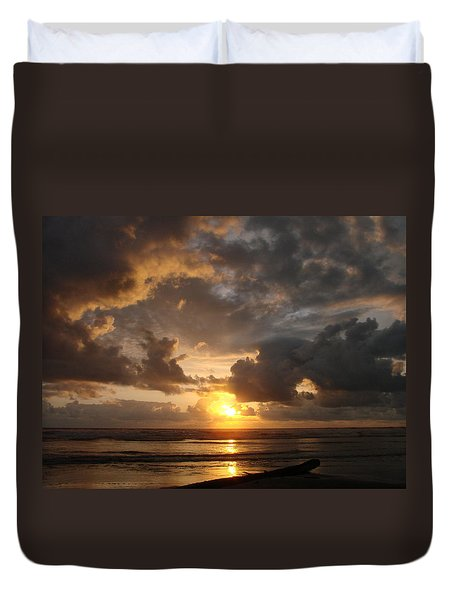 Majestic Sunset Duvet Cover by Athena Mckinzie