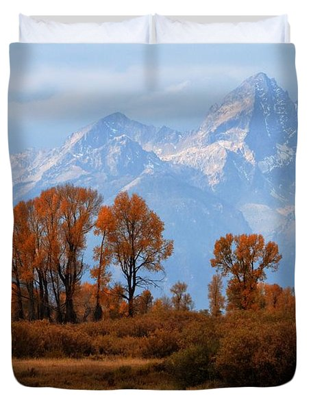 Majestic Backdrop Duvet Cover