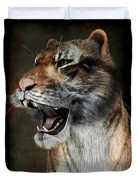 Majestic Beast Duvet Cover by Maynard Ellis