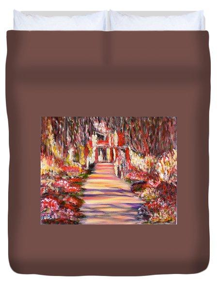 Majestic Garden Duvet Cover
