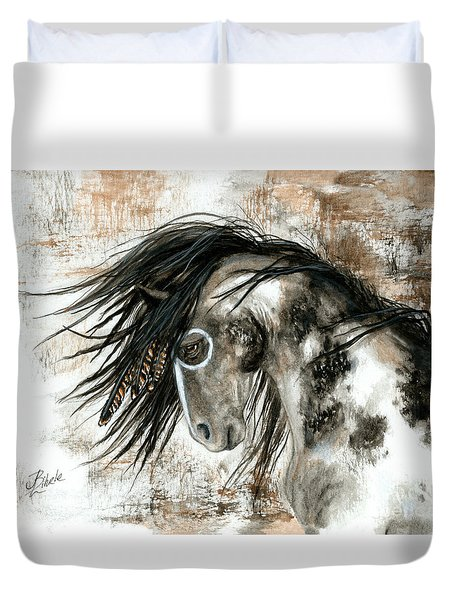 Majestic Horse Series 88 Duvet Cover by AmyLyn Bihrle