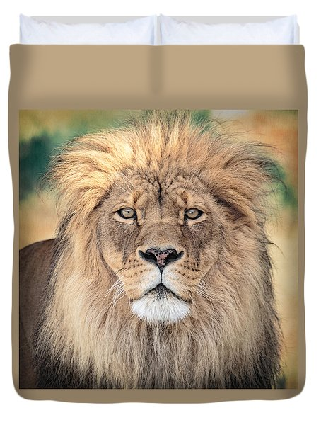 Majestic King Duvet Cover by Everet Regal