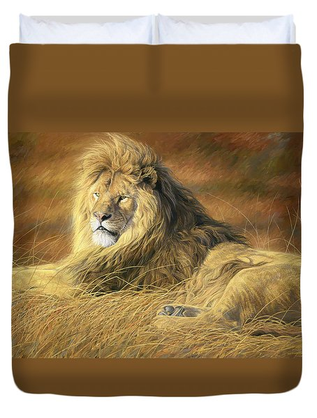 Majestic Duvet Cover by Lucie Bilodeau