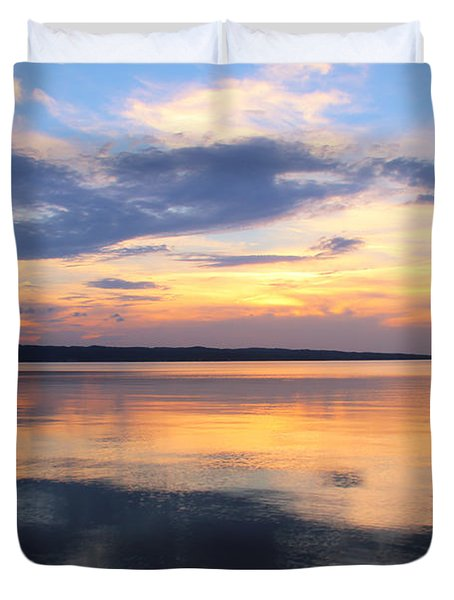 Majestic Mirror Duvet Cover by Rachel Cohen