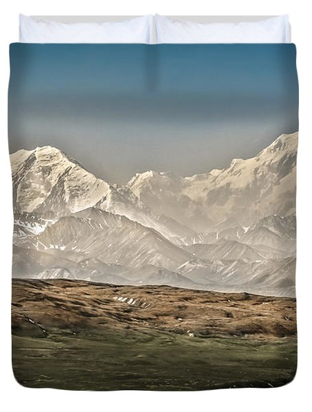 Majestic Mount Mckinley Duvet Cover