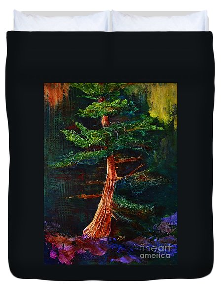 Majestic Pine Duvet Cover