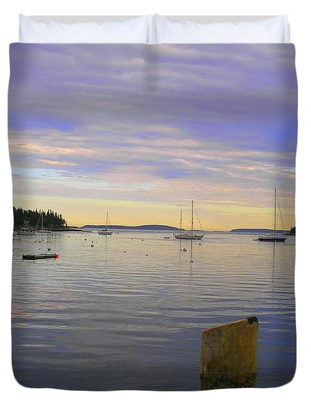 Majestic Sunrise Duvet Cover by Elizabeth Dow