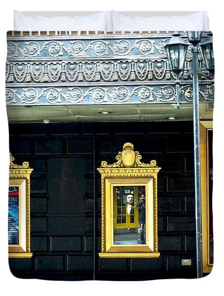 Majestic Theatre Lightpost Duvet Cover