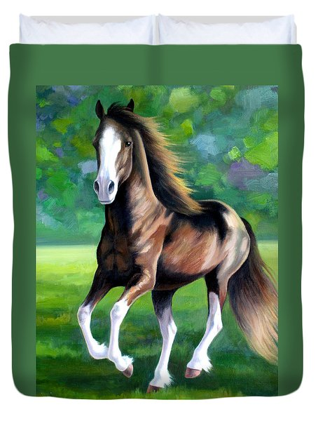 Majestic Duvet Cover by Vivien Rhyan