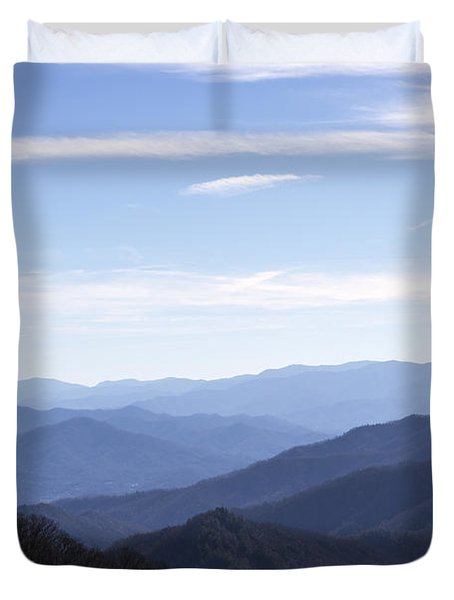 Duvet Cover featuring the photograph Majesty by Michael Waters