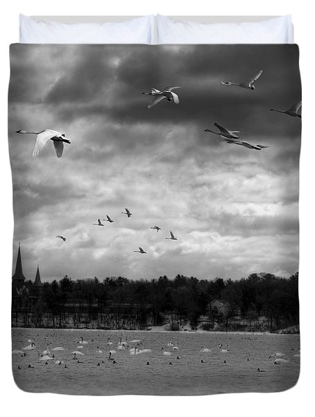 Major Migration Duvet Cover