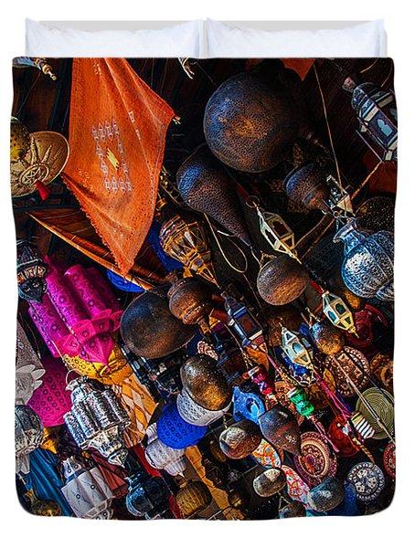 Marrakech Lanterns Duvet Cover