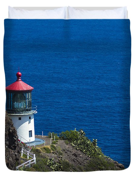 Makapuu Lighthouse 1 Duvet Cover