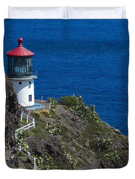 Makapuu Lighthouse2 Duvet Cover