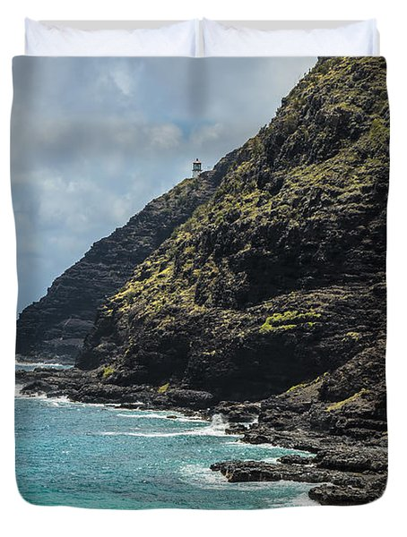 Makapuu Point 1 Duvet Cover
