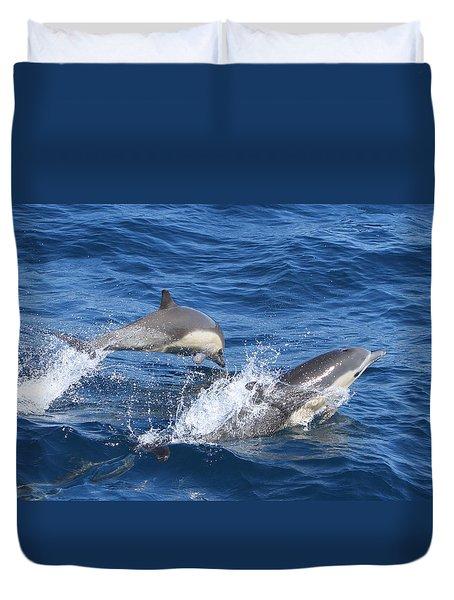 Make A Splash Duvet Cover