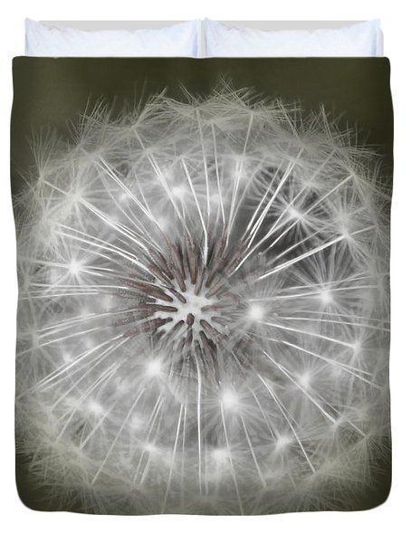 Make A Wish Duvet Cover by Peggy Hughes