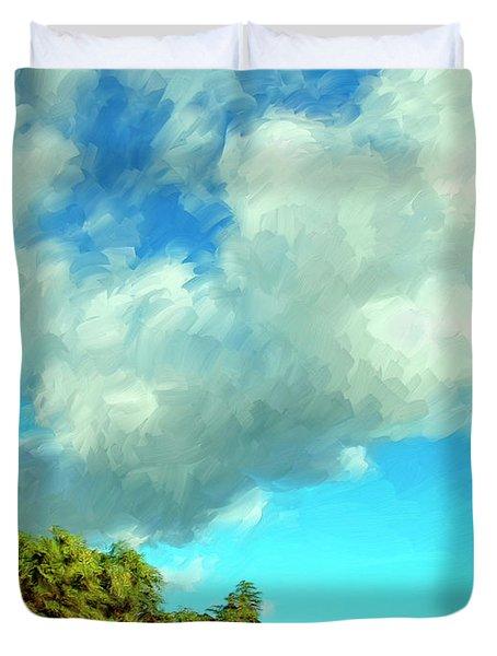 Makena Beach Maui Duvet Cover by Dominic Piperata
