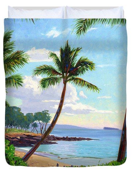 Makena Beach - Maui Duvet Cover