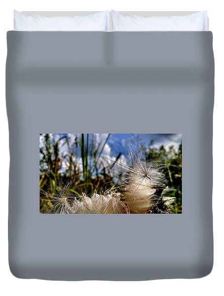 Making A Wish In Tennessee Duvet Cover by Chris Tarpening