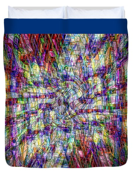 Making Sense Of Things Duvet Cover by Kellice Swaggerty
