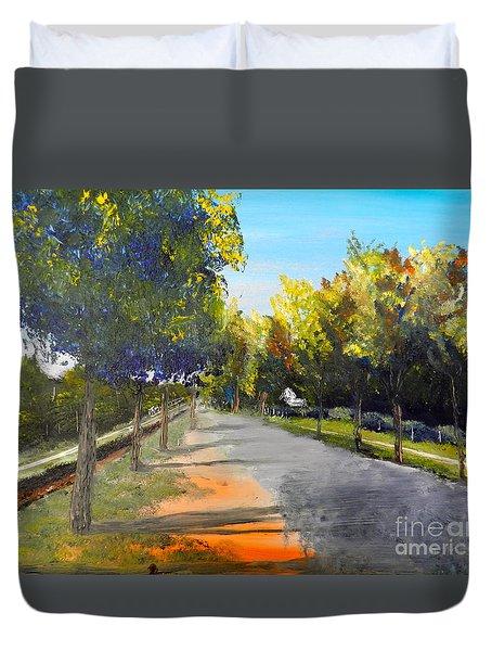 Maldon Victoria Australia Duvet Cover