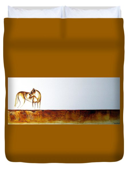 Lioness - Original Artwork Duvet Cover
