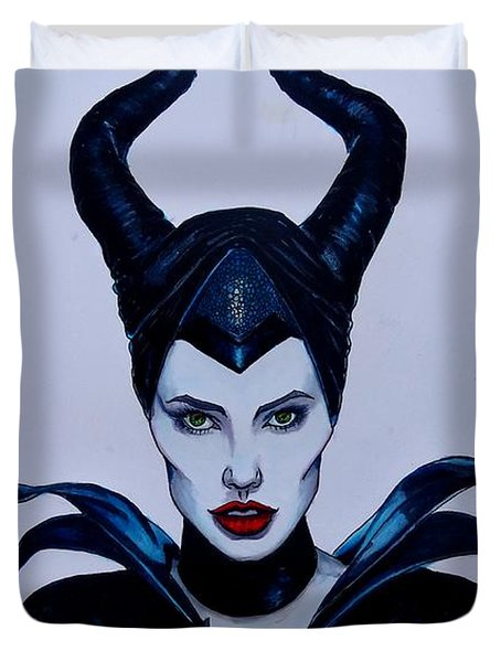 Maleficent Duvet Cover